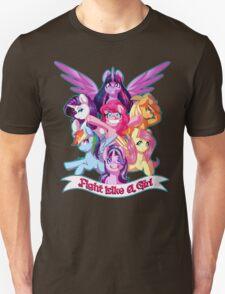 Fight Like a Girl!!!! Unisex T-Shirt