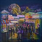 Evening at the fair by Deb Reynolds