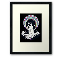 Julian Casablancas Framed Print