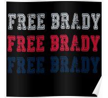 Free Brady! Poster