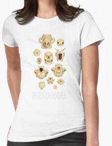 Planche de crânes Womens Fitted T-Shirt
