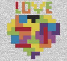 Love Tetris  Kids Tee