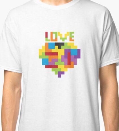 Love Tetris  Classic T-Shirt