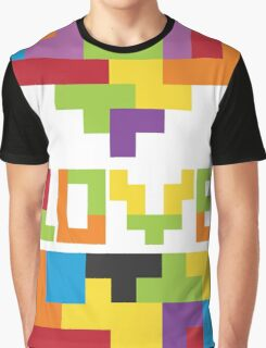 Love Tetris  Graphic T-Shirt