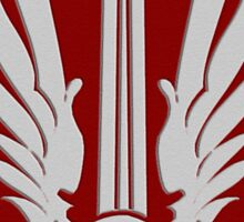 Battlestar Galactica Pegasus insignia Sticker