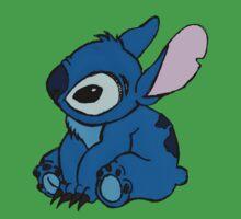 stitch sat by ashleypb by AshleyPB