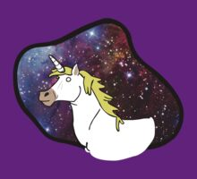 Space Unicorn in Space by ColourTV