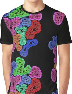 Psychedelic Pattern Graphic T-Shirt