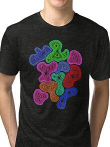 Psychedelic Pattern Tri-blend T-Shirt