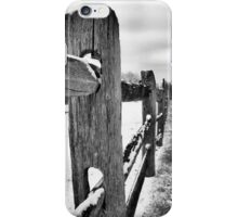 Country Frost iPhone Case/Skin