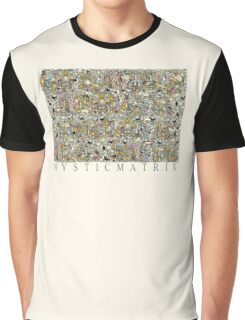 """MYSTICMATRIX """"Go placidly amongst the noise and haste"""" Graphic T-Shirt"""
