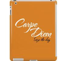 Dead Poets Society - Carpe Diem - Seize The Day iPad Case/Skin