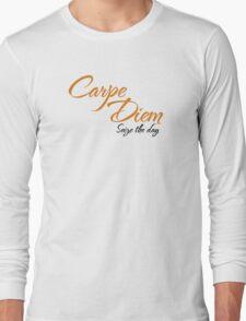 Dead Poets Society - Carpe Diem - Seize The Day Long Sleeve T-Shirt