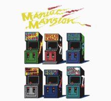 MANIAC MANSION ARCADE ROOM One Piece - Short Sleeve