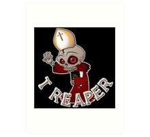 T Reaper Art Print