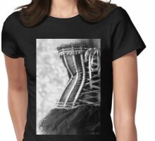 Ribbons and Lace Womens Fitted T-Shirt