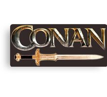 Conan the Barbarian sword Canvas Print