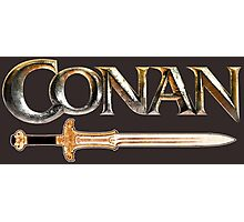 Conan the Barbarian sword Photographic Print