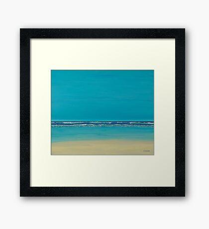 Tranquil. Framed Print