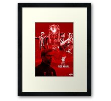 Rise Again - Liverpool Framed Print