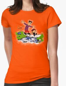 Little Viking and Strong Man Womens T-Shirt