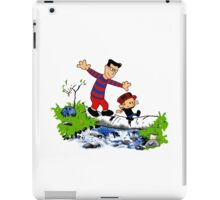 Little Viking and Strong Man iPad Case/Skin
