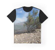 Rocky Paradise (Willard Bay Beach) Graphic T-Shirt