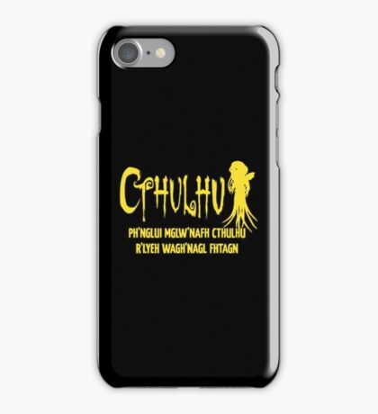 Cthulhu Fhtagn Lovecraft iPhone Case/Skin