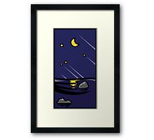 Night Pop'Art Framed Print