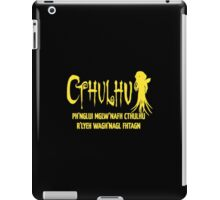 Cthulhu Fhtagn Lovecraft iPad Case/Skin