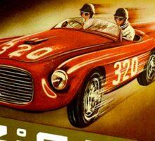 """""""TARGA LA MOTTA"""" Vintage Auto Racing Print Sticker"""