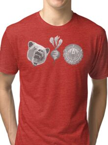 Bears Beets Battlestar Galactica  Tri-blend T-Shirt