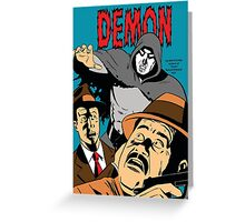 The Demon Cover Image  Greeting Card