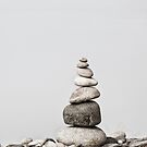 Stone cairn by artsandsoul