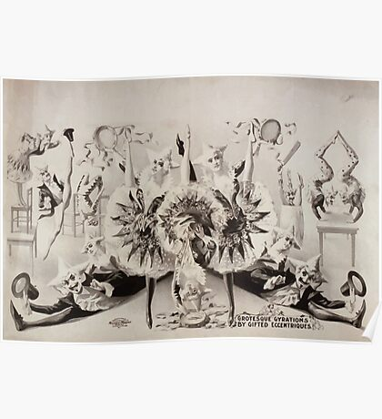 Performing Arts Posters Grotesque gyrations by gifted eccentriques 0554 Poster
