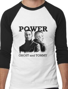 Power TV - Ghost and Tommy Men's Baseball ¾ T-Shirt