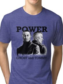 Power TV - Ghost and Tommy Tri-blend T-Shirt