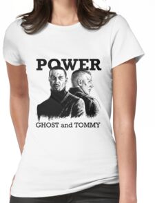 Power TV - Ghost and Tommy Womens Fitted T-Shirt