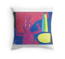 Who is in the spotlight? Throw Pillow