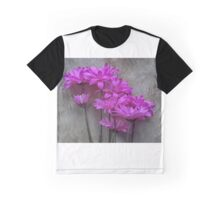 Floral in Pink # 4 Graphic T-Shirt