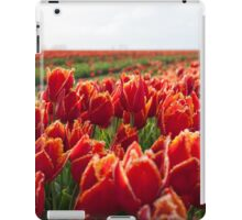 Red tulips iPad Case/Skin