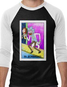 El Borracho Rick Sanchez  Men's Baseball ¾ T-Shirt