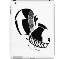daft punk helmets no logo (black and white) iPad Case/Skin
