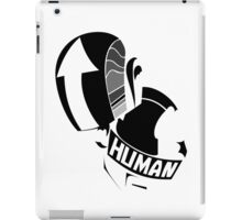 daft punk helmets no logo (black and white) iPad Case/Skin