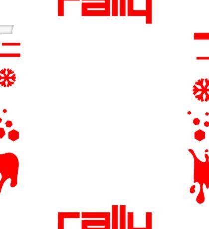 Rally – tarmac snow gravel mud (5) Sticker