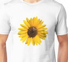 Beautiful Bee on a Sunflower Unisex T-Shirt