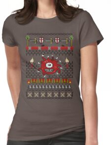 Dungeons and Dragons - Knitted Style Womens Fitted T-Shirt