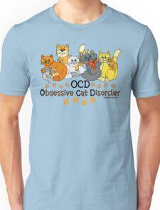 OCD Obsessive Cat Disorder Saying Unisex T-Shirt