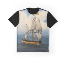 Tall Ship Graphic T-Shirt