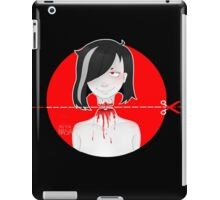Don't lose your head iPad Case/Skin